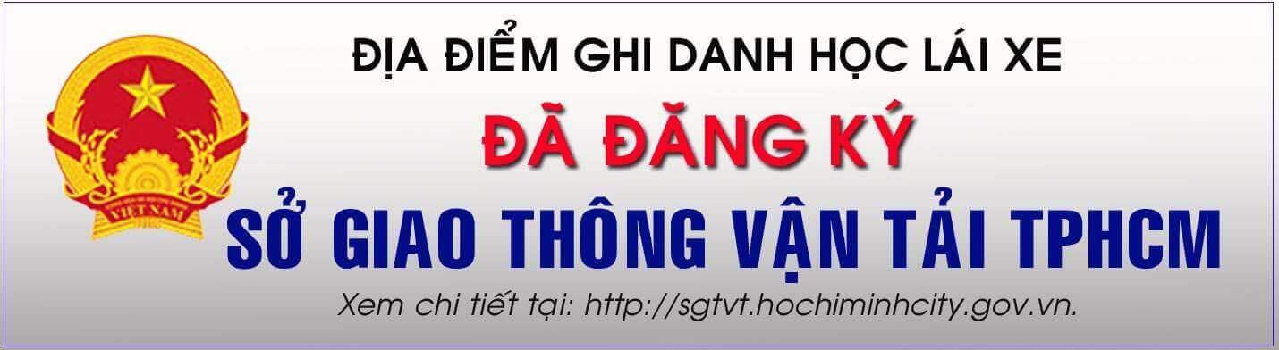 trường dạy lái xe tphcm - Sở GTVT HCM