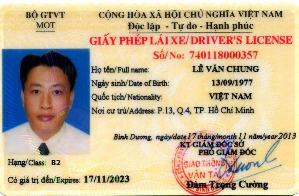 Các LoạiBằng Lái Xe Ô Tô Ở Việt Nam Hiện Nay, Và Điều Kiện Sử Dụng Chúng?