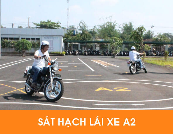 Lệ Phí thi bằng lái xe mô tô a2
