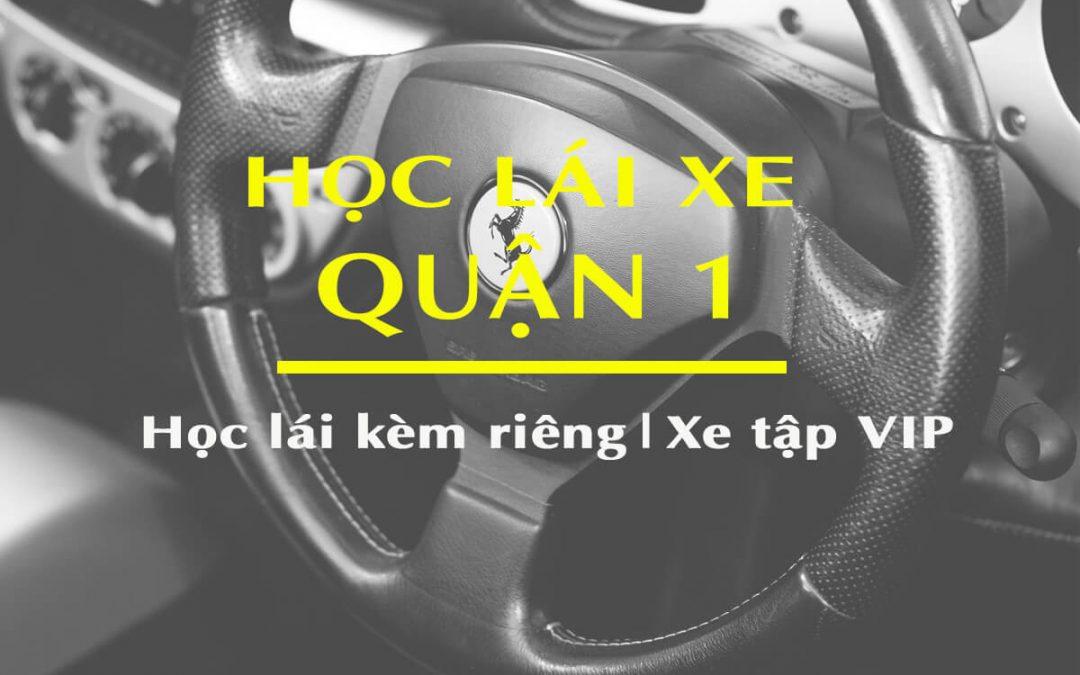 Học lái xe ô tô quận 1 tại trung tâm Tiến Thành- cam kết Học Là đậu 100%