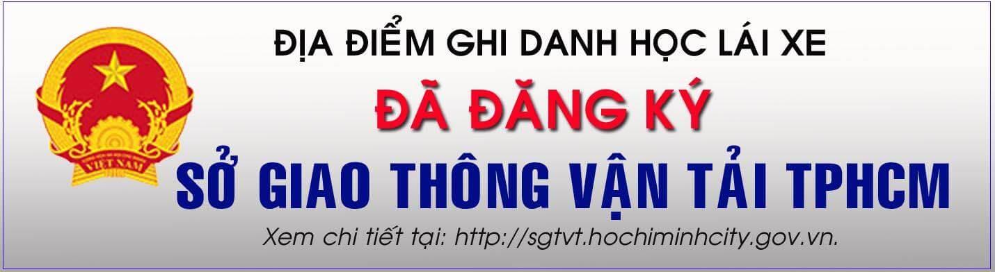 trường dạy lái trực thuộc Sở GTVT TP HCM