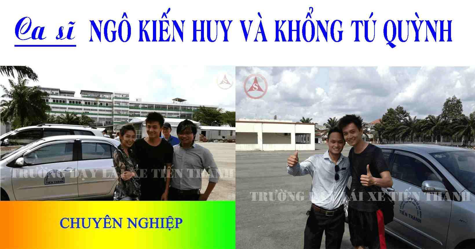 Ngô Kiến Huy - Khổng Tú Quỳnh đang học tại trường Tiến Thành quận 7