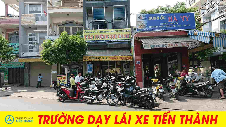 trường dạy lái xe uy tín nhất quận Bình Thạnh - Tiến Thành