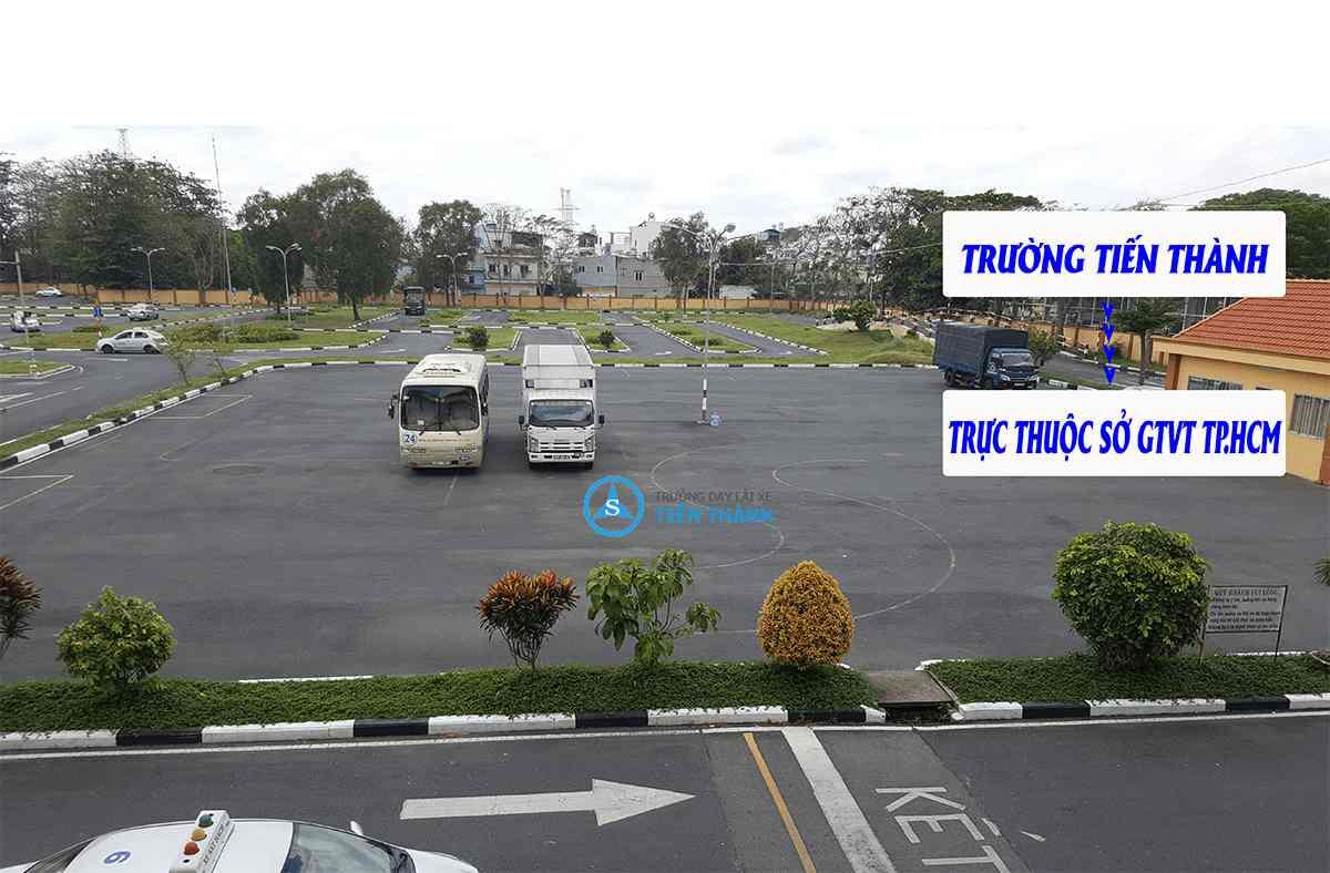 Điểm bổ túc tay lái tại TP HCM