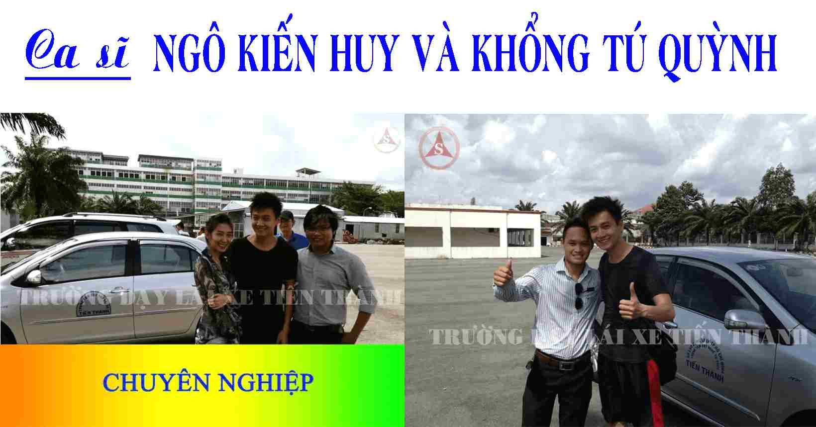 truong day lai xe Tien Thanh