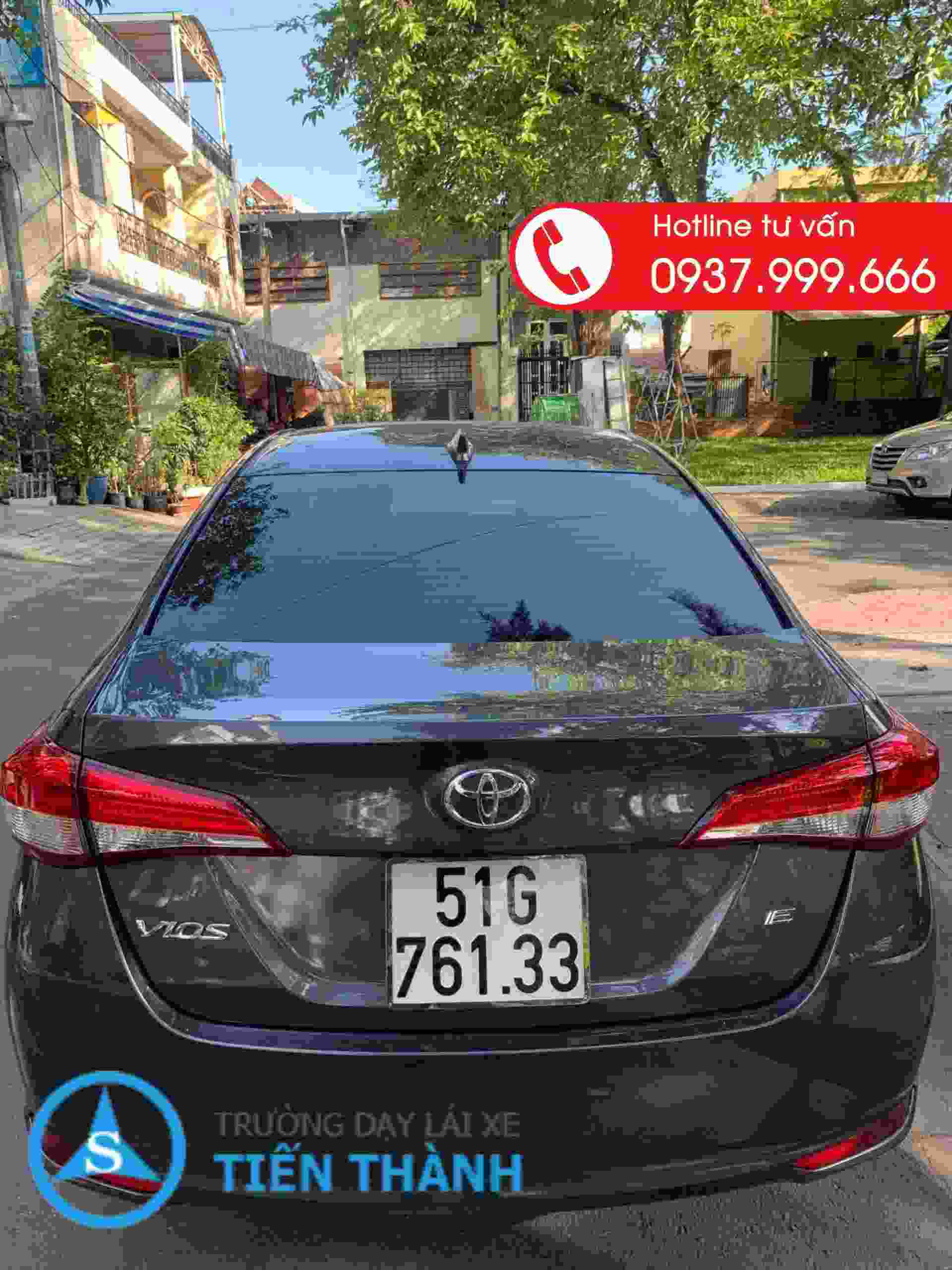 xe tập lái trường dạy lái xe Tiến Thành CN Q9
