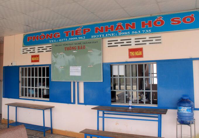 phòng ghi danh - trường dạy lái xe tại TpHCM