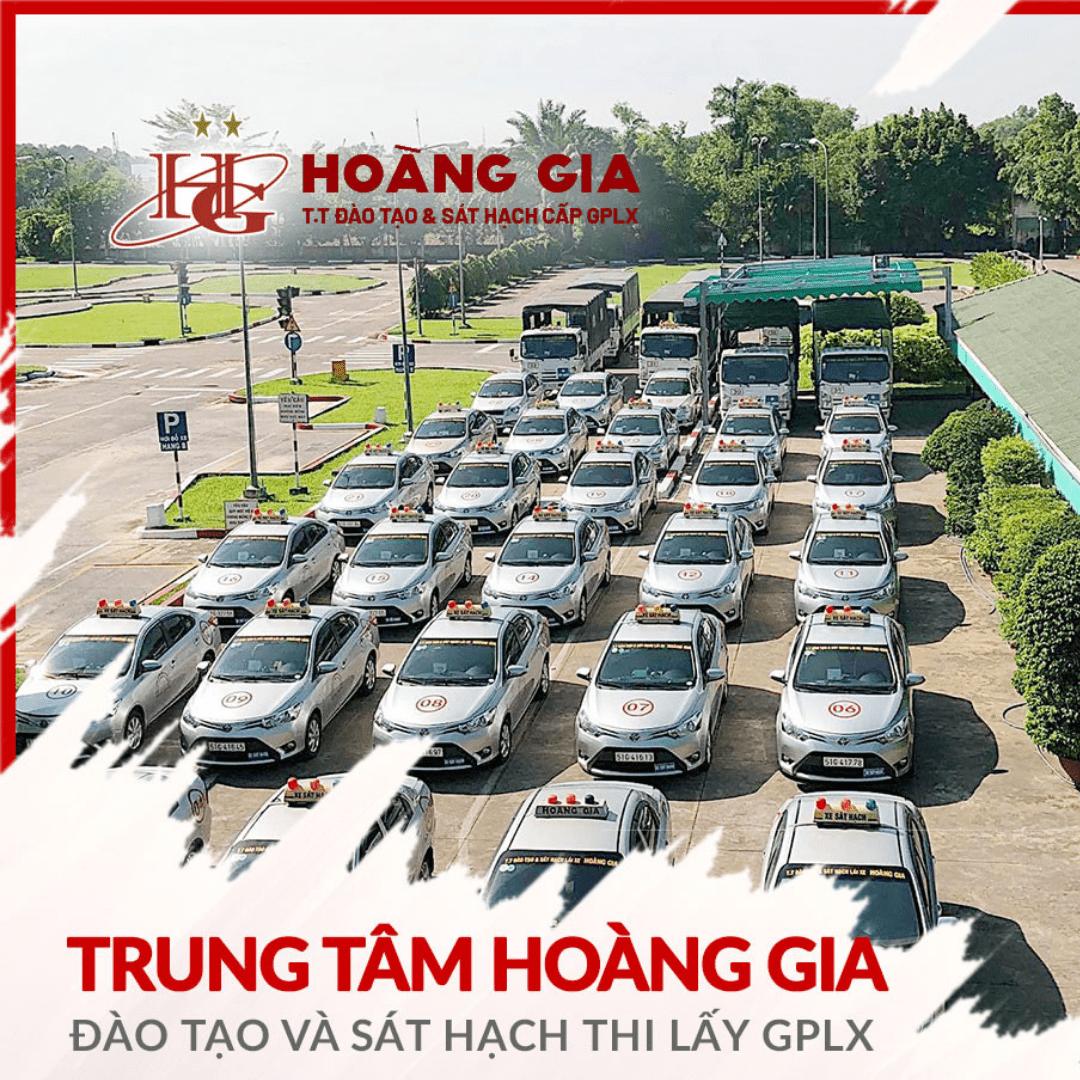 trường dạy lái xe uy tín tại TpHCM - Hoàng Gia